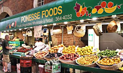Ponesse Foods - Fruit and Vegetables - St Lawrence Markets
