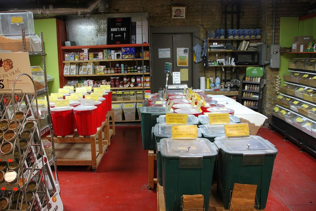 Rube's Rice - Bulk Foods - St Lawrence Market