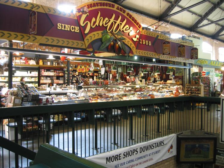 Scheffler's Delicatessen & Cheese - Cheese -St LA=awrence Market